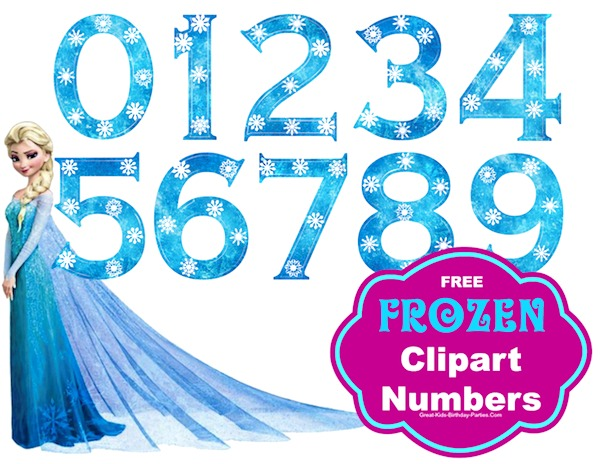 Clipart Size Great For Frozen Birthday Party L Great Kids Birthday