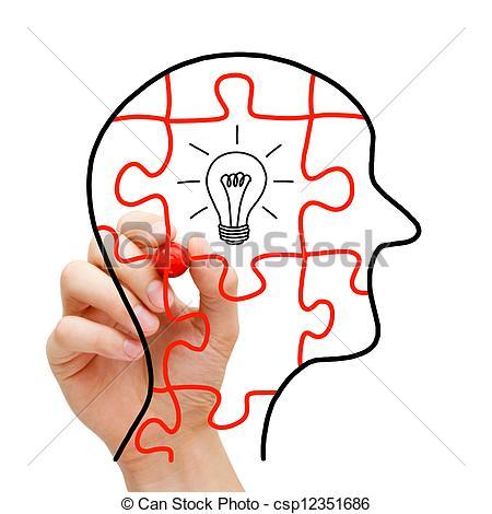 Creative Thinking Clipart - Clipart Kid