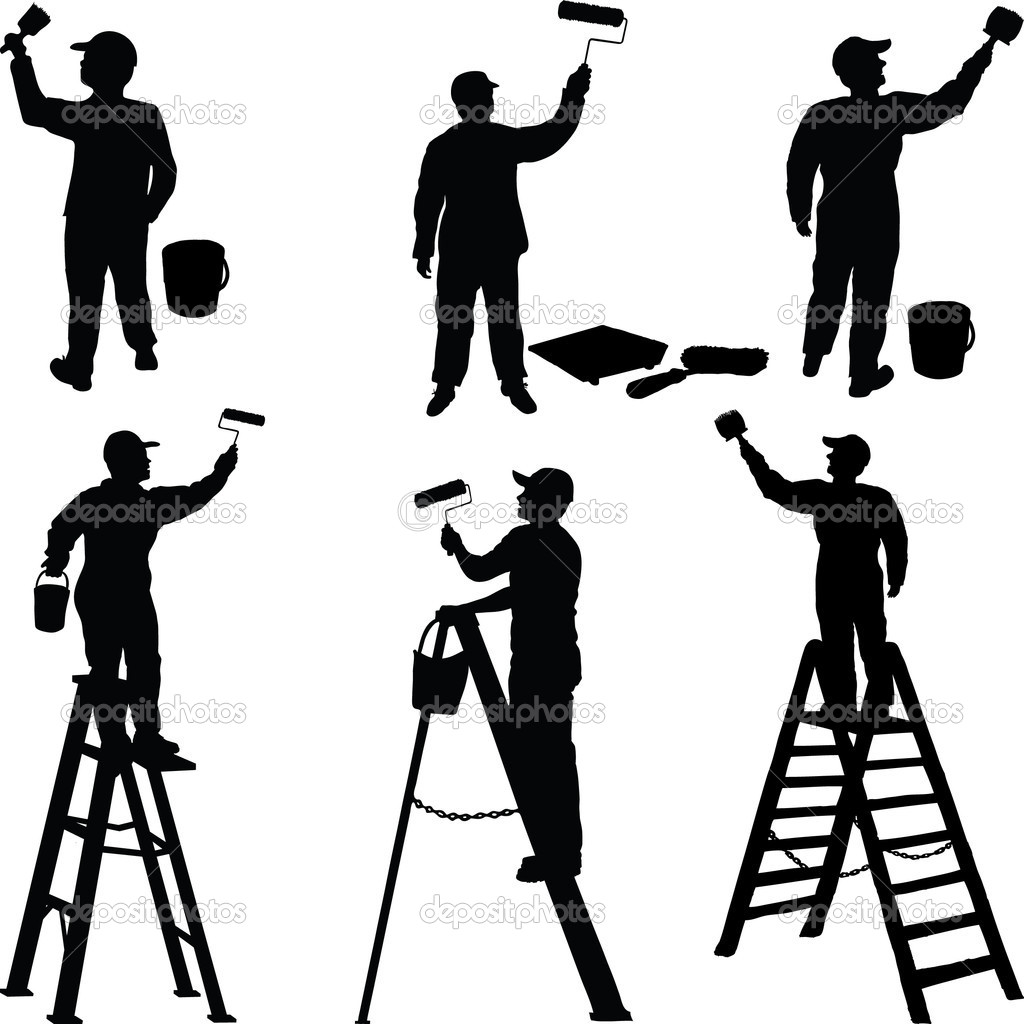 Construction Worker Silhouette   Clipart Panda   Free Clipart Images