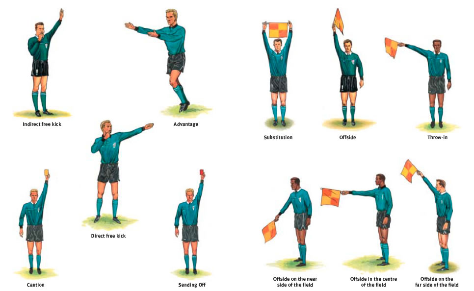 Hand Signals In Volleyball With Pictures