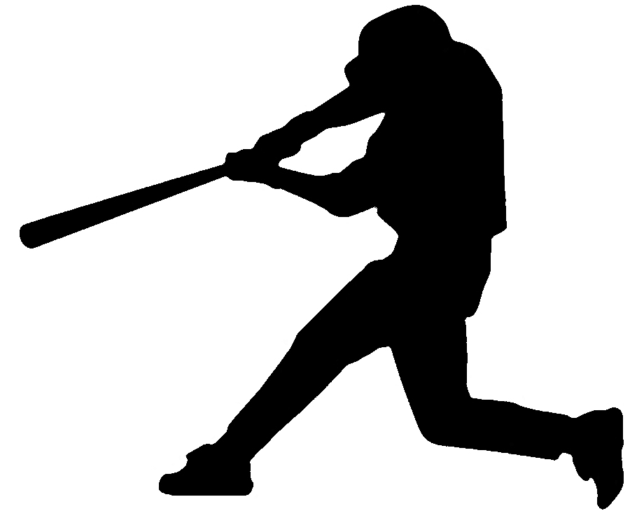 23 Baseball Silhouette Free Cliparts That You Can Download To You