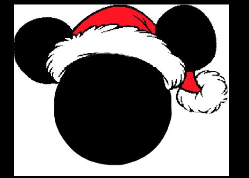mickey mouse christmas light pole