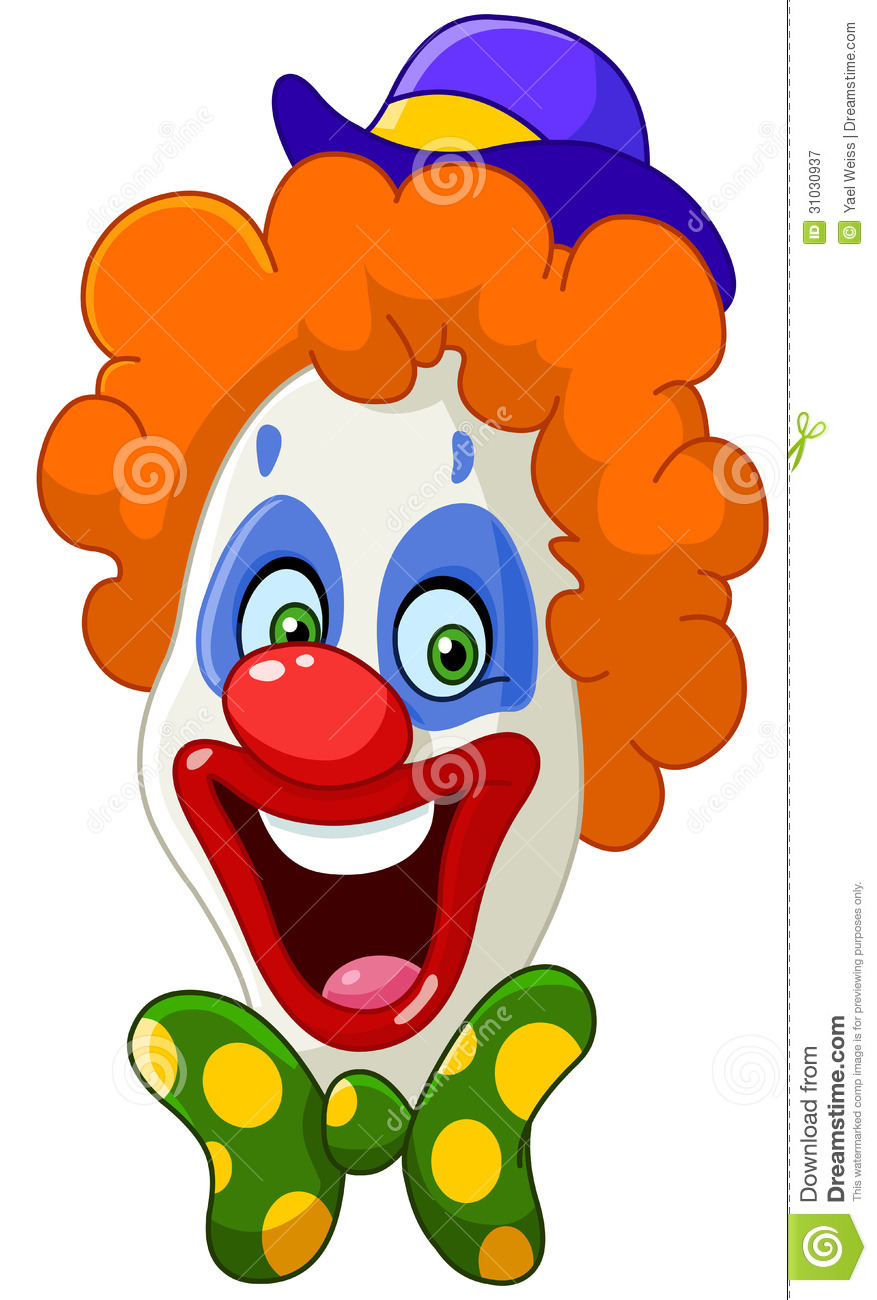 Cute Clown Face Clipart - Clipart Suggest