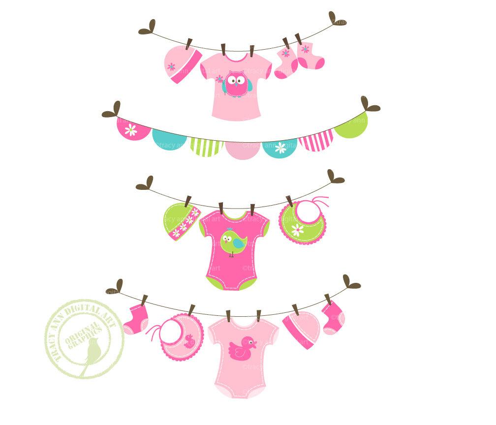 Baby Girl Stuff Clipart - Clipart Kid