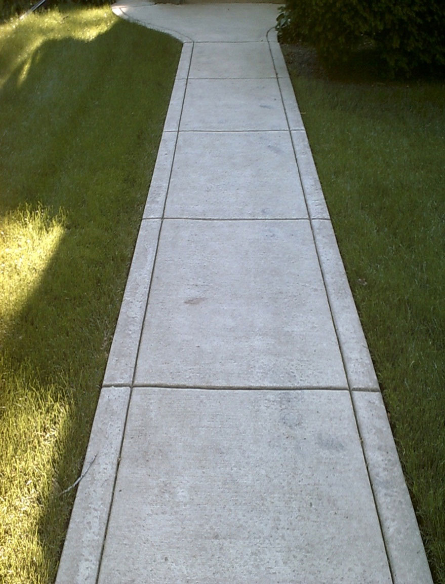 How to Fix Sidewalks That Are Chipped and Pitted Family