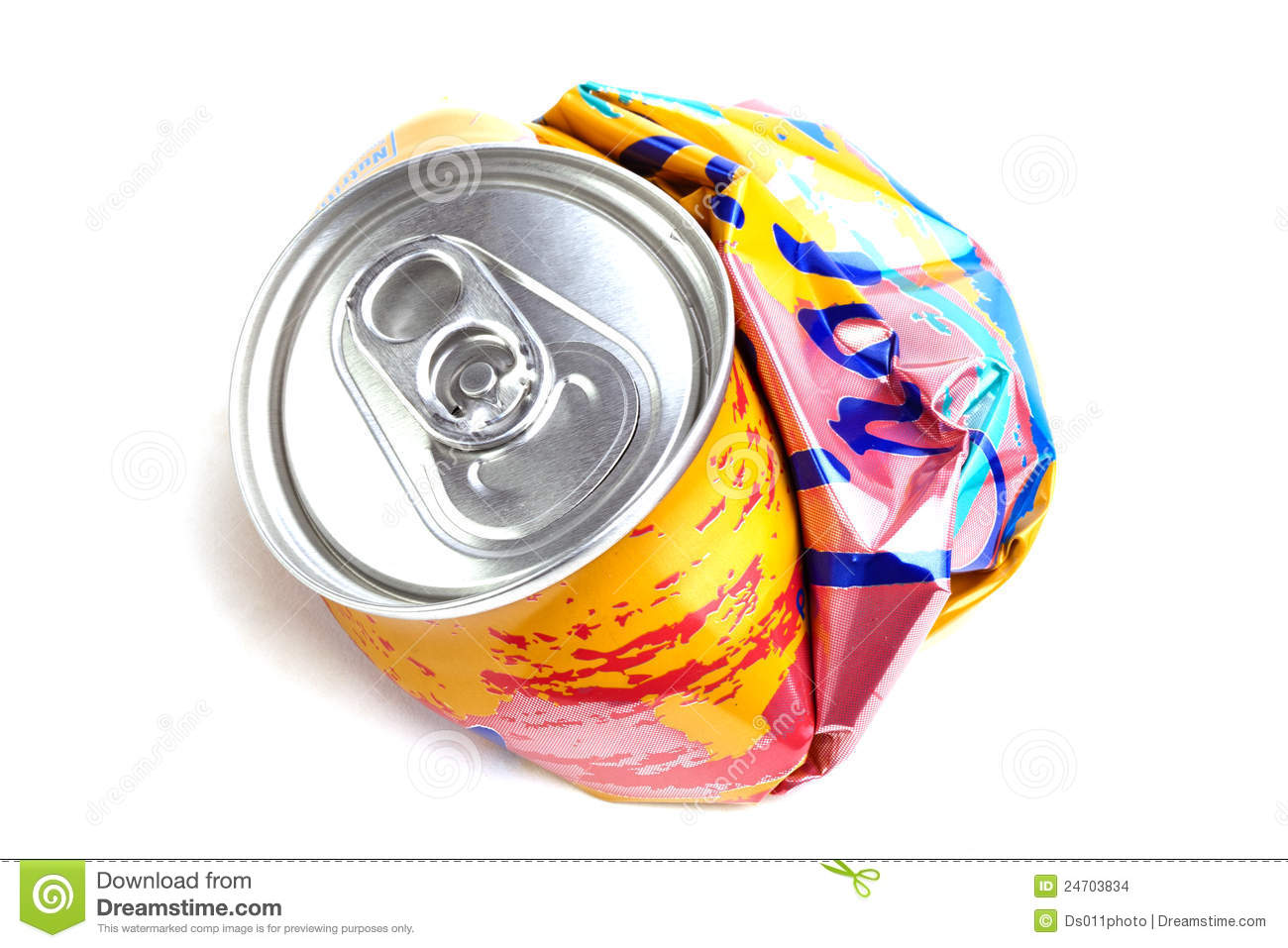 Crushed Beer Can Clipart Crushed Soda Can