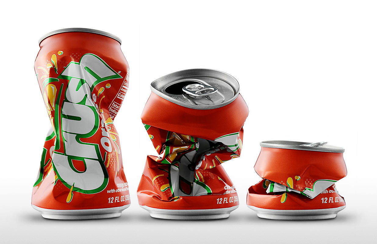 Crushed Soda Can Clipart - Clipart Kid