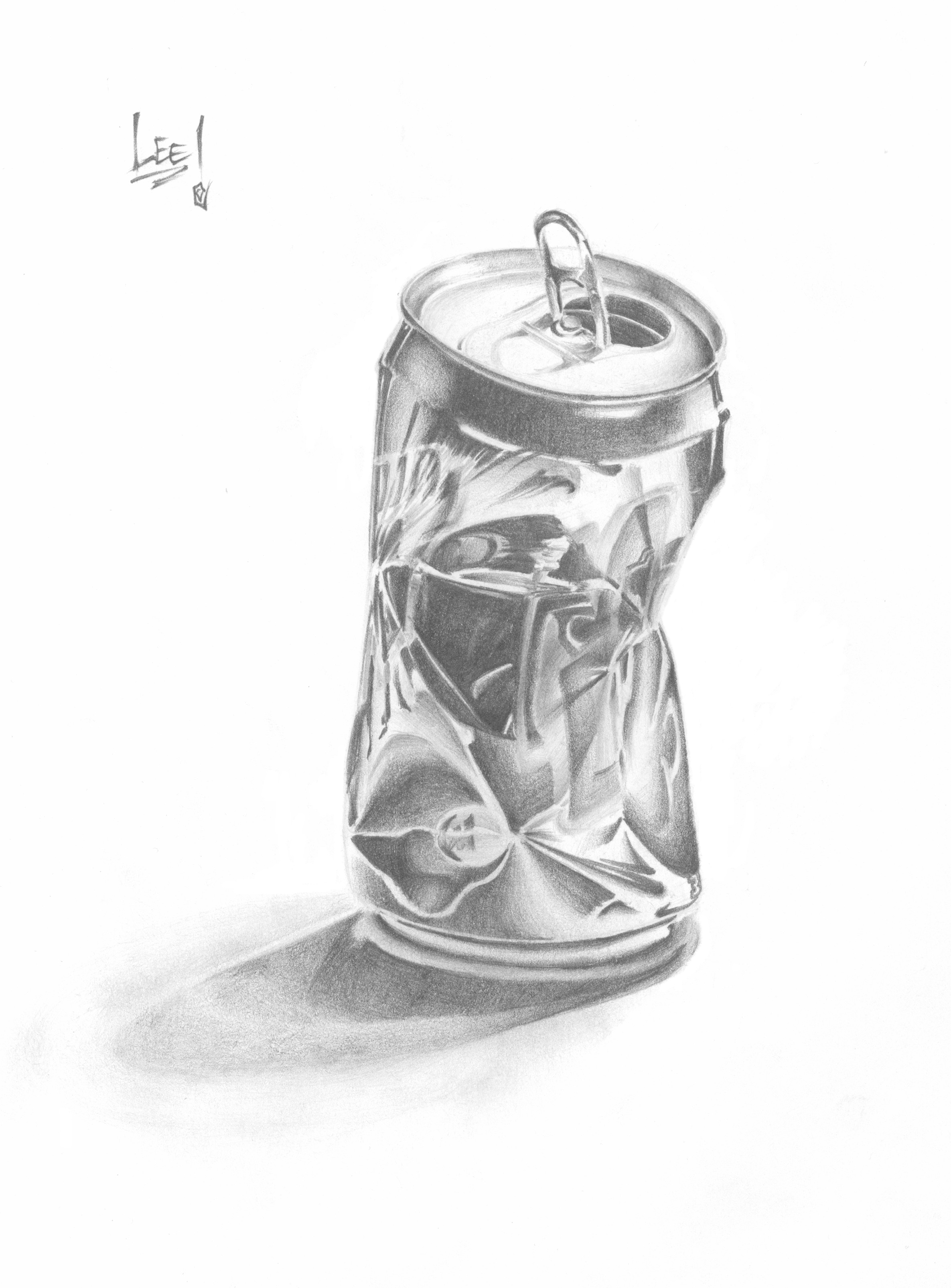 Crushed Pop Can By 82esoteric84 On Deviantart