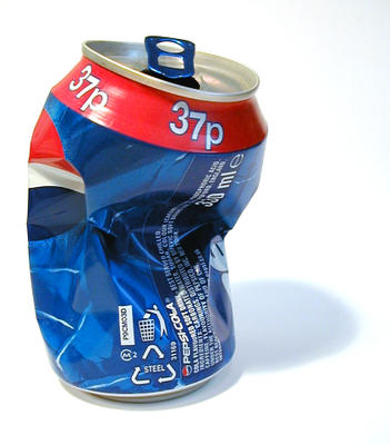 Crushed Soda Can Clip Art