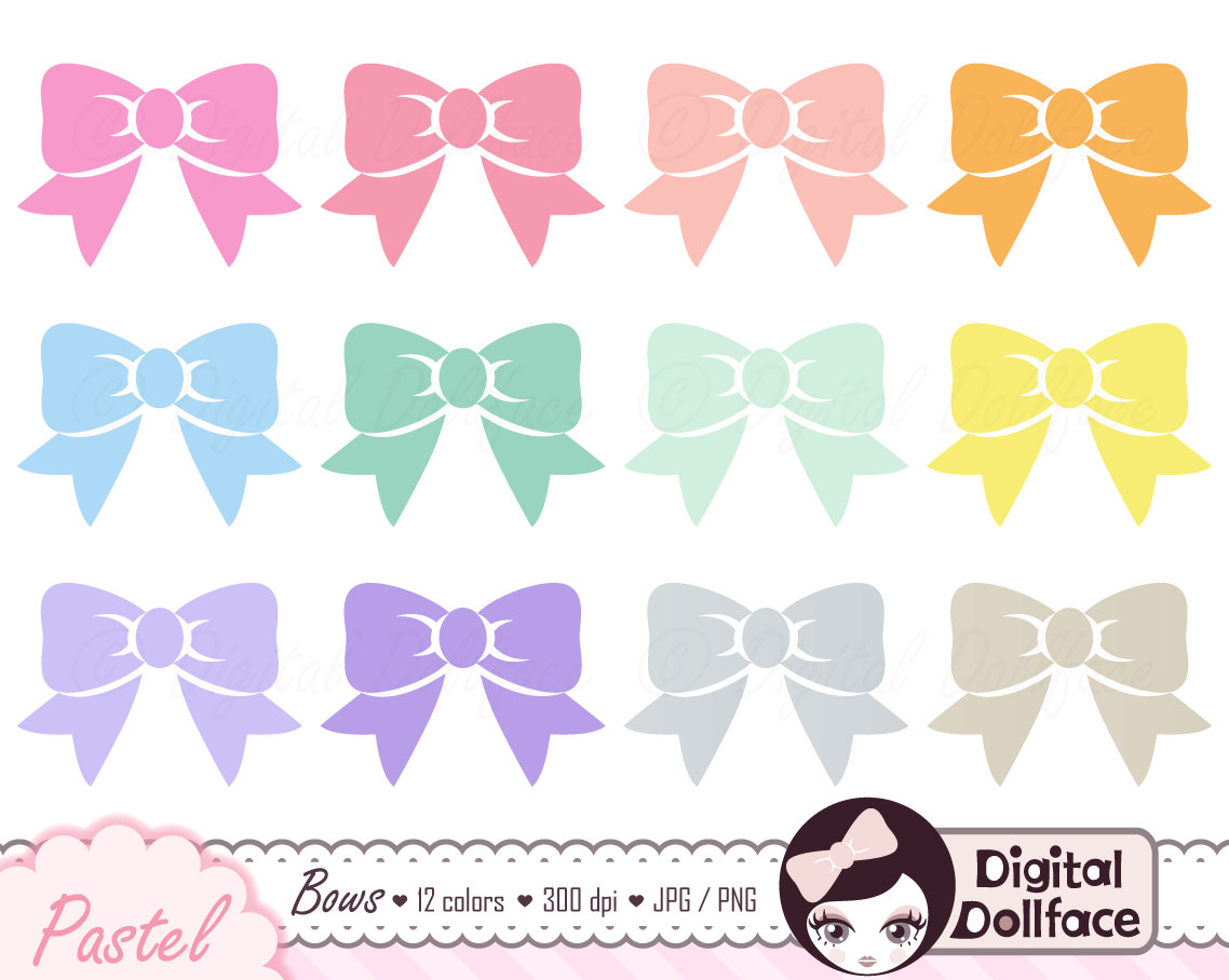 Ribbon Bow And Etsy Clipart - Clipart Kid