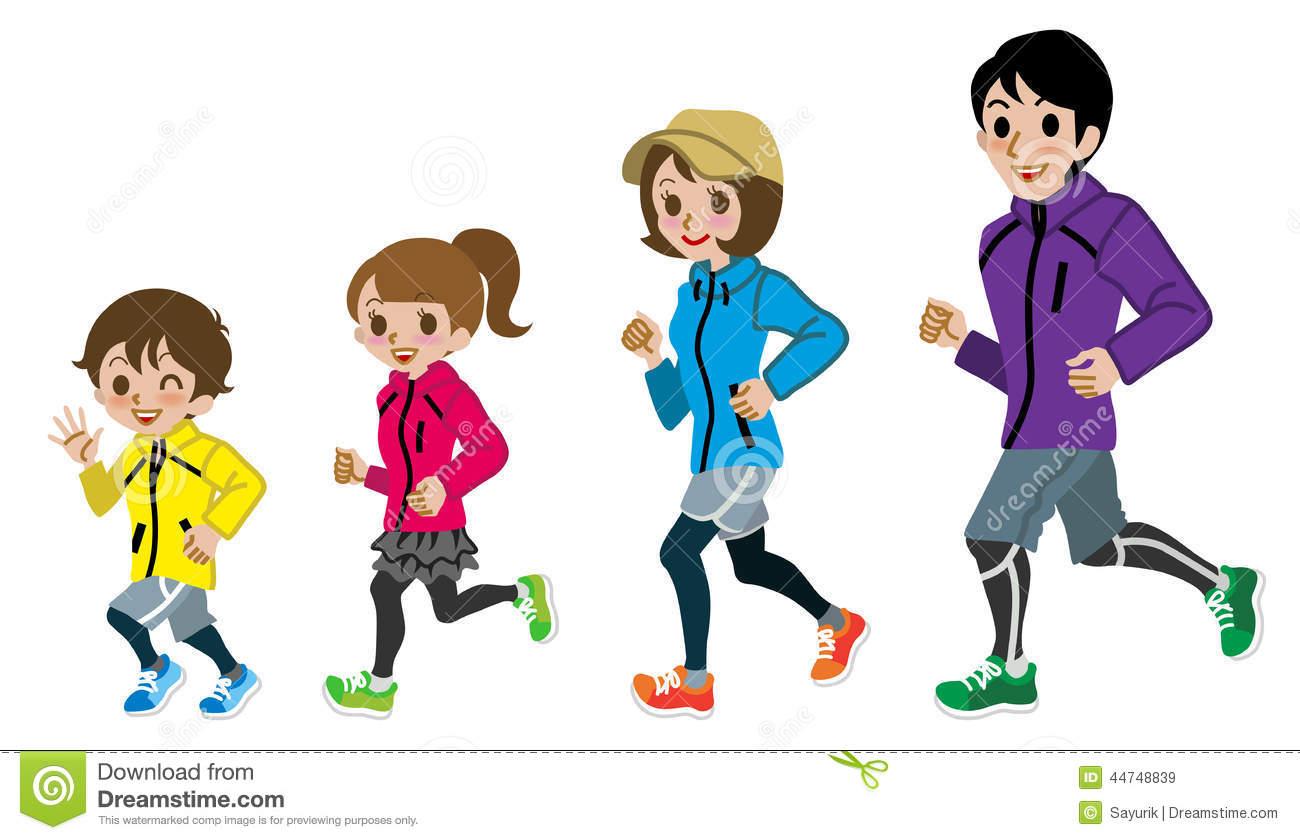 family running clipart - photo #5