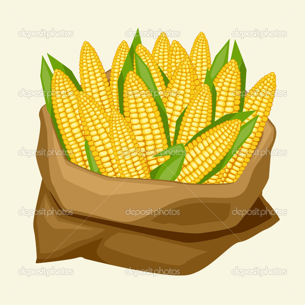 bag of corn clipart clipart suggest