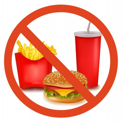 clip art say no junkfood clipart clipart suggest
