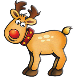 Cute reindeer head clipart - photo#26