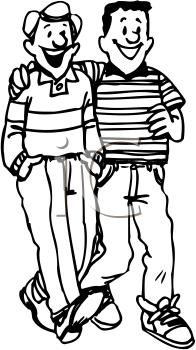 Friends Walking Clipart - Clipart Suggest