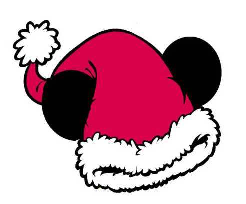 Mickey Santa Hat Clipart - Clipart Kid