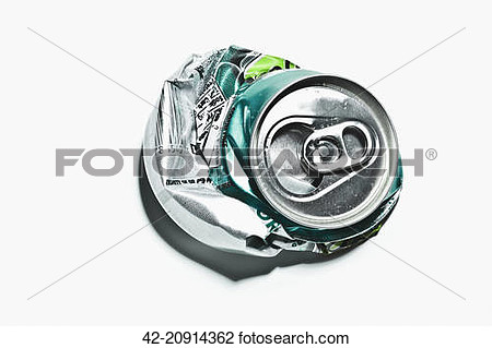 Stock Photo Of Crushed Soda Can 42 20914362   Search Stock Photography