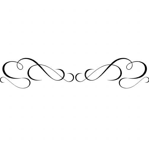 Swirl Border Clip Art   Cliparts Co