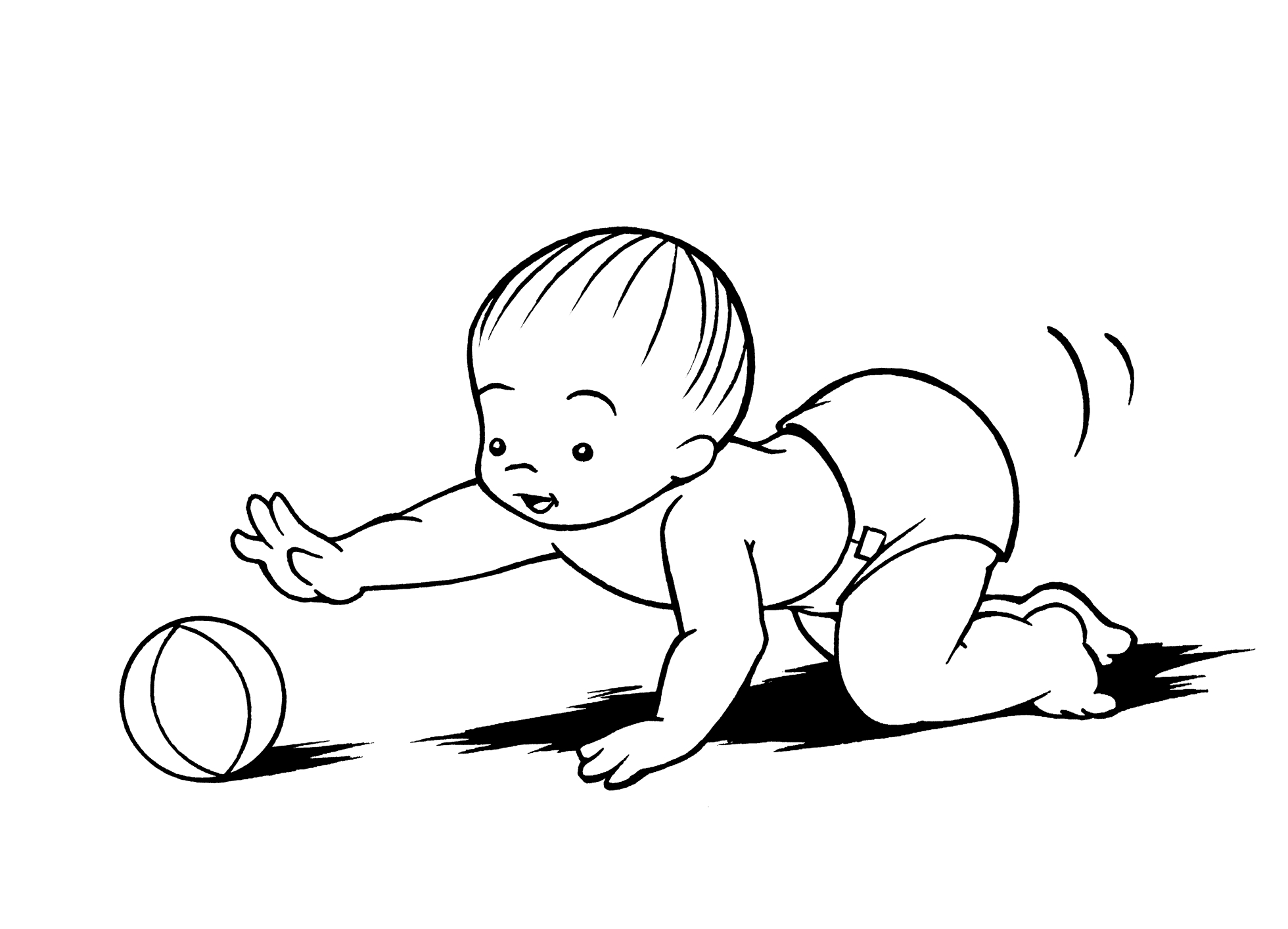 Baby Crawling Drawings Images   Pictures   Becuo