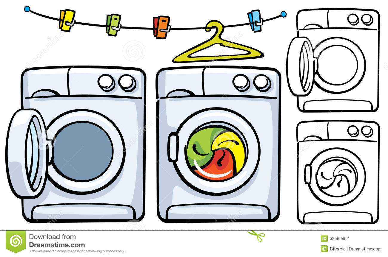 Clothespins And Washer Machine Stock Photography   Image  33560852