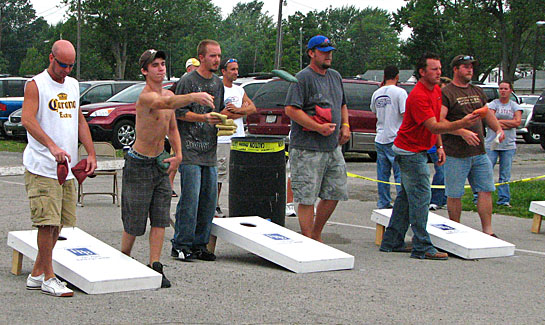 Cornhole Tournament Picture