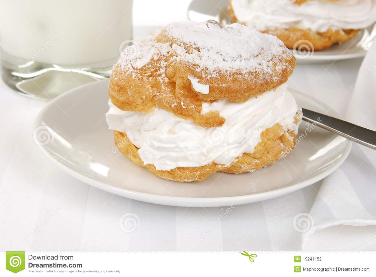 Масляный крем заварное пирожное