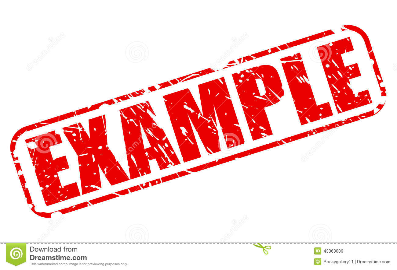 Example Red Stamp Text Stock Vector   Image  43363006