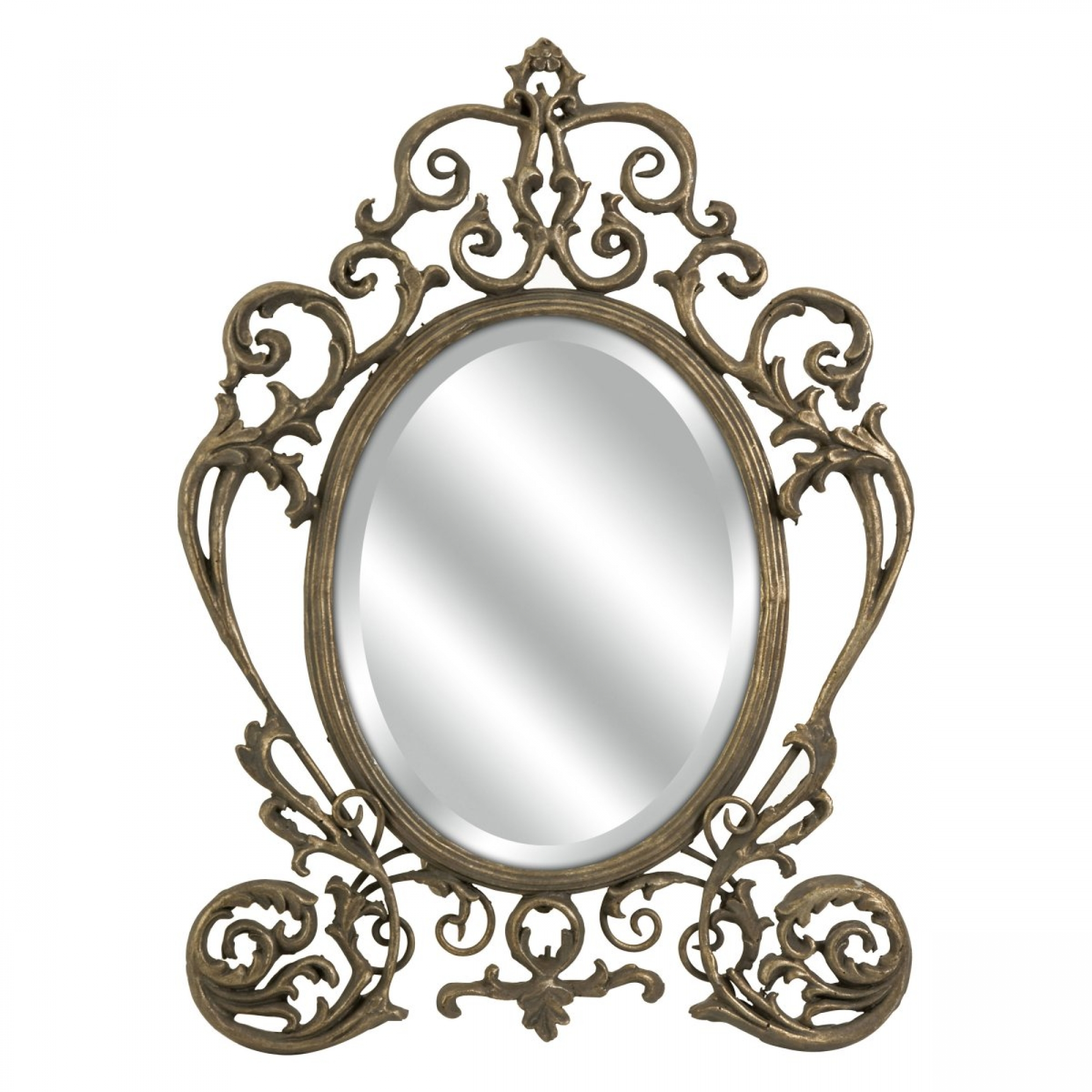 Vintage mirror clipart clipart suggest for Fancy oval mirror