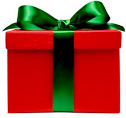 Image result for holiday present clip art