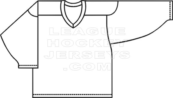 Show Me More A Blank Hockey Jersey Colouring Pages