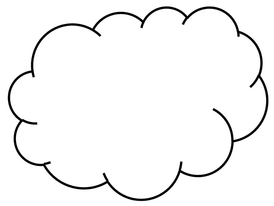24 Cloud Line Drawing Free Cliparts That You Can Download To You