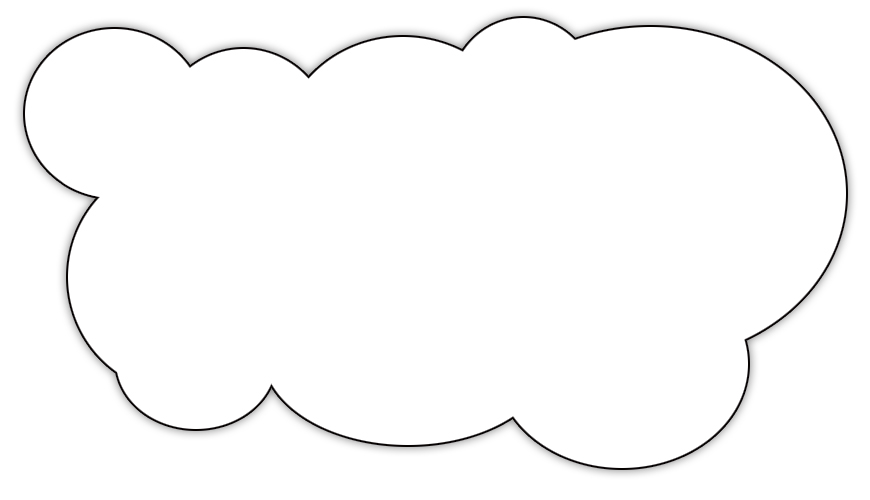 coloring pages of clouds - color cloud clipart clipart suggest