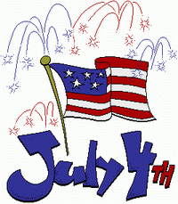 4th Of July Clip Art Pg 2
