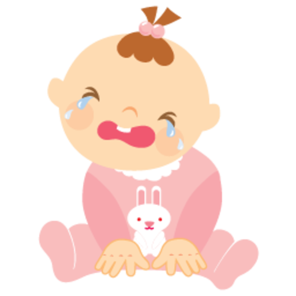 Child Crying Clipart