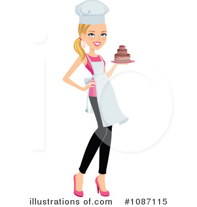 Chef Clipart  1087115   Illustration By Monica