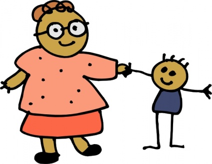 Cartoon Mom Clipart - Clipart Kid