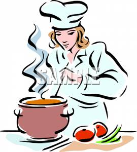 Female Chef Clipart - Clipart Kid