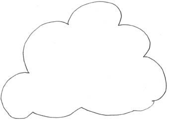 Color Cloud Clipart - Clipart Kid