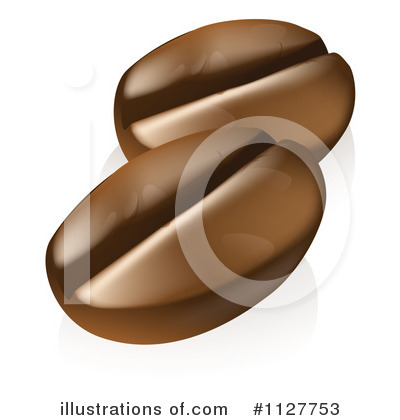 Coffee Bean Clipart  1127753 By Geo Images   Royalty Free  Rf  Stock