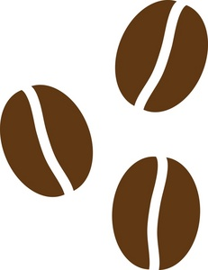 Coffee Bean Clipart Black And White   Clipart Panda   Free Clipart
