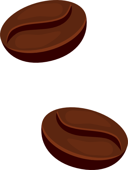 Coffee Beans Clip Art At Clker Com   Vector Clip Art Online Royalty