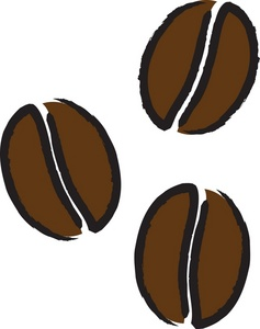 Coffee Beans Clip Art Images Coffee Beans Stock Photos   Clipart