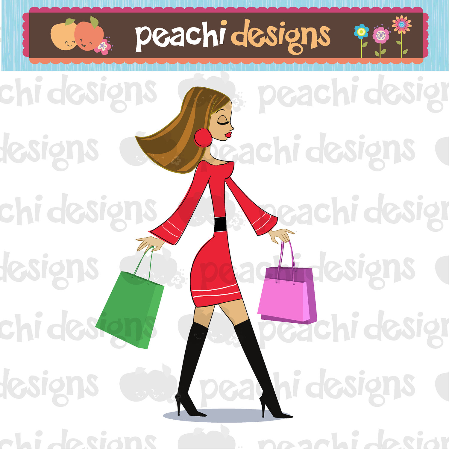 Cute Shopping Clipart