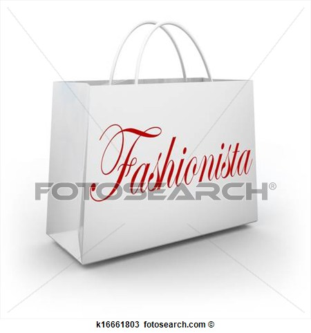 Fashionista Shopping Clipart Drawing Fashionista Shopping