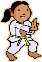 Karate Children Clipart For Kata Kicks Training   Best Children