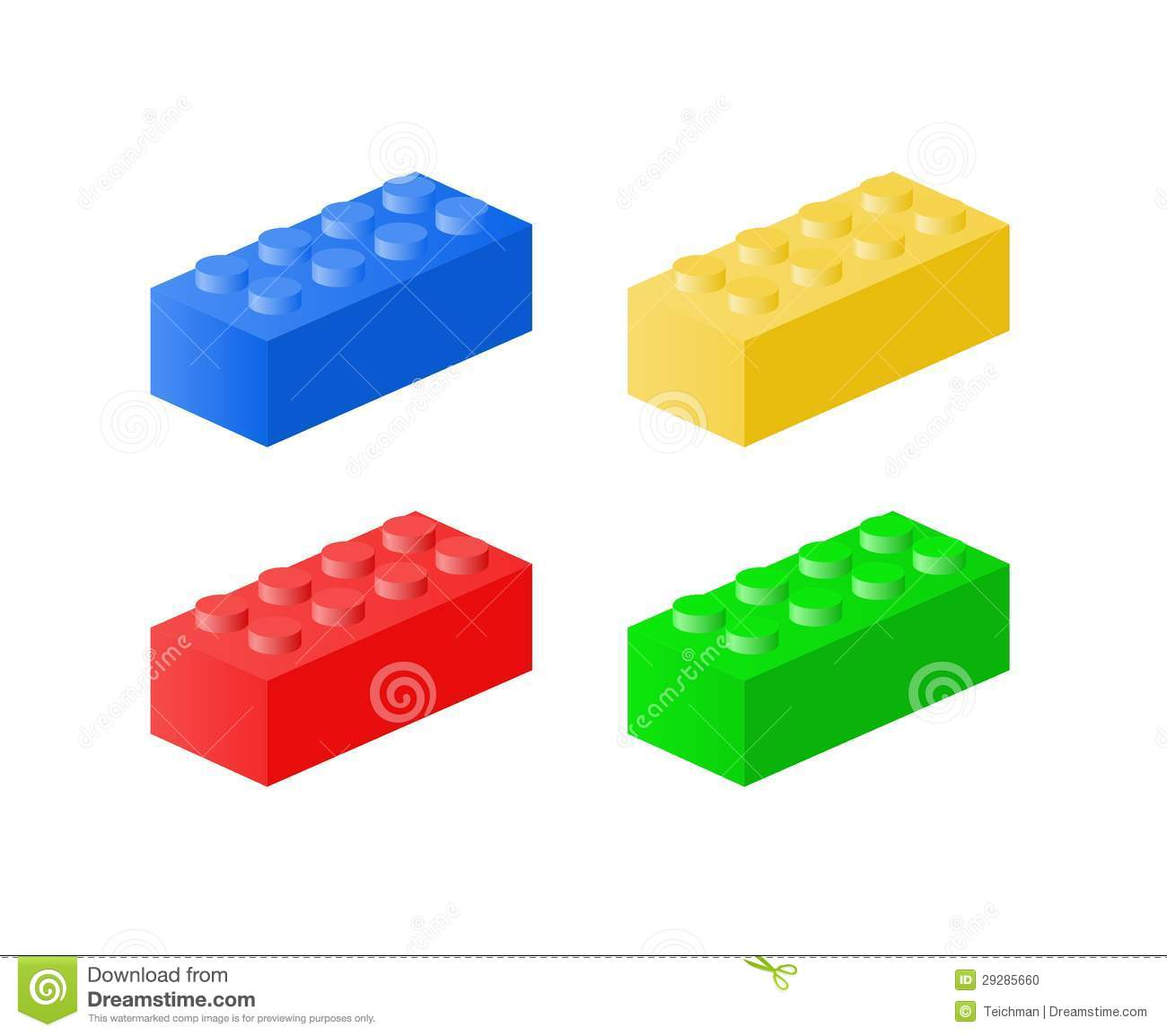 lego brick side view clipart - photo #30