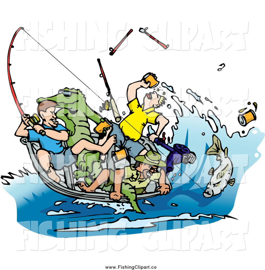 Man Fishing In Boat Clipart   Clipart Panda   Free Clipart Images