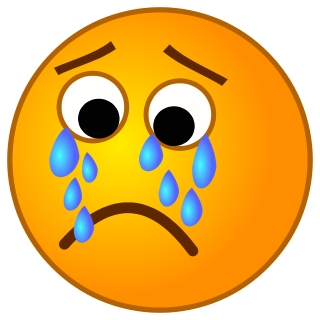 Sad Face Crying Clipart - Clipart Kid
