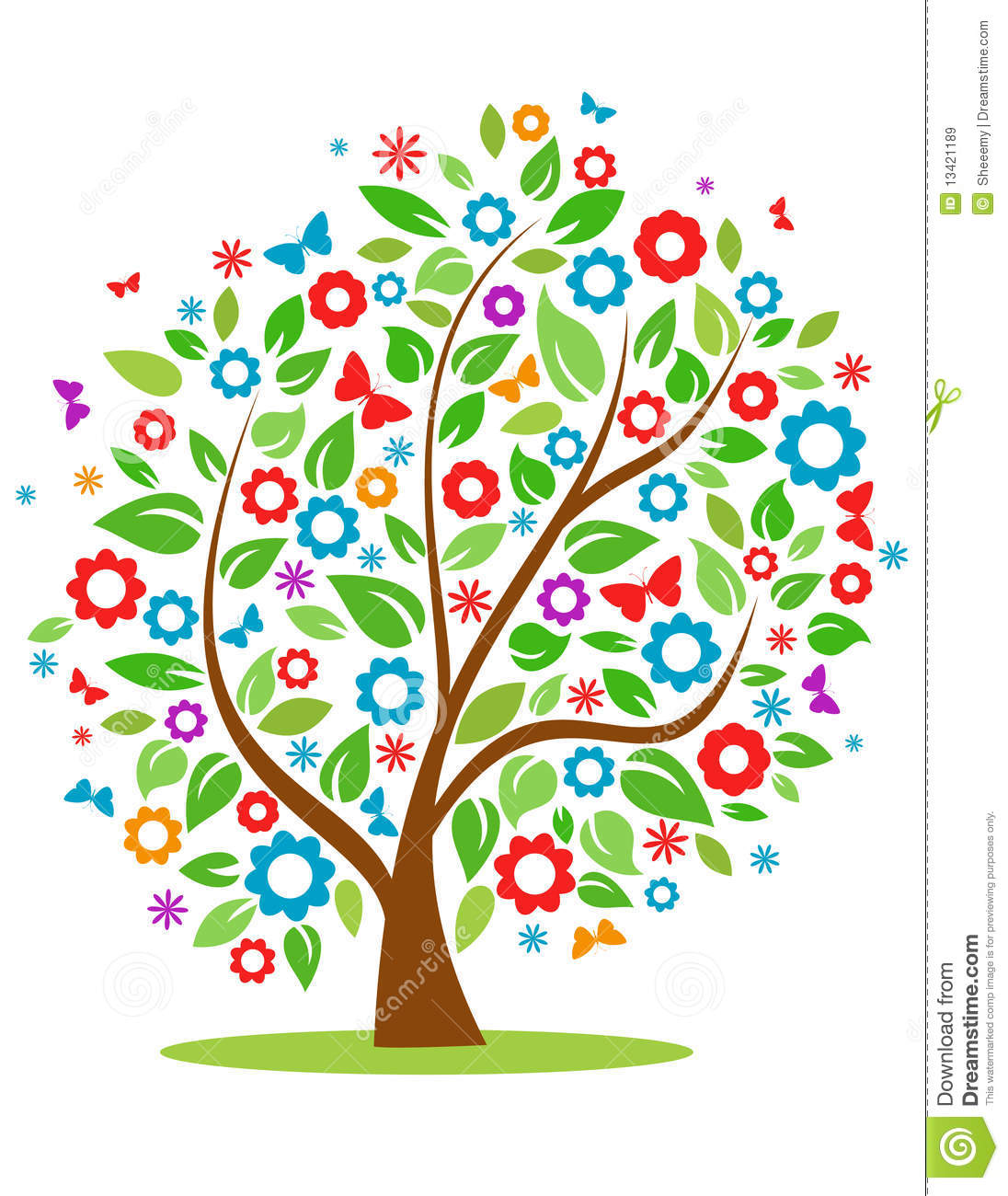 spring tree clipart clipart suggest