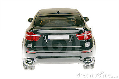 Suv Car Back View Stock Images   Image  12848634